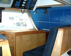 Stbd Fwd Pilothouse Seating